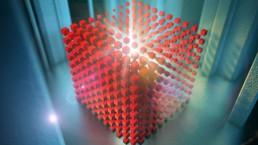 Red cubes - image rendu 14 décembre 2018